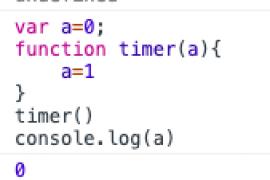 函数参数会生成新的作用域